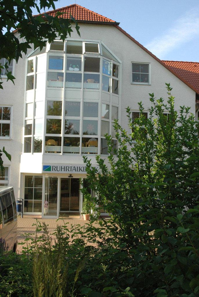 Außenansicht der Ruhrtalklinik
