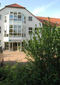 Eingang der Ruhrtalklinik Wickede