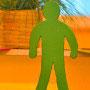 Das grüne Männchen