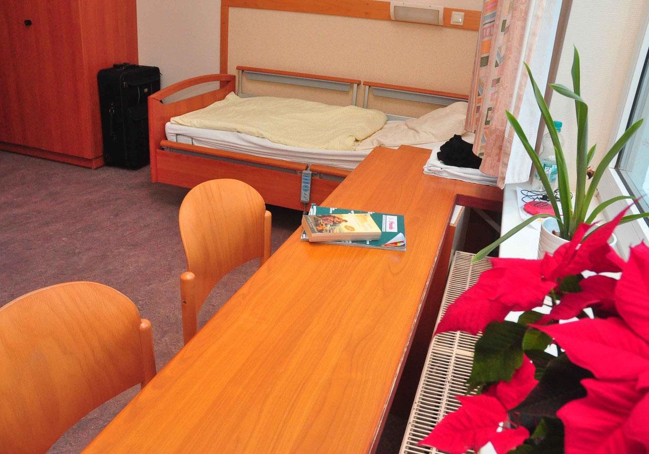 Gemütlich und funktional sind unsere Zimmer eingerichtet